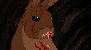 Evil rabbit from Watership Down